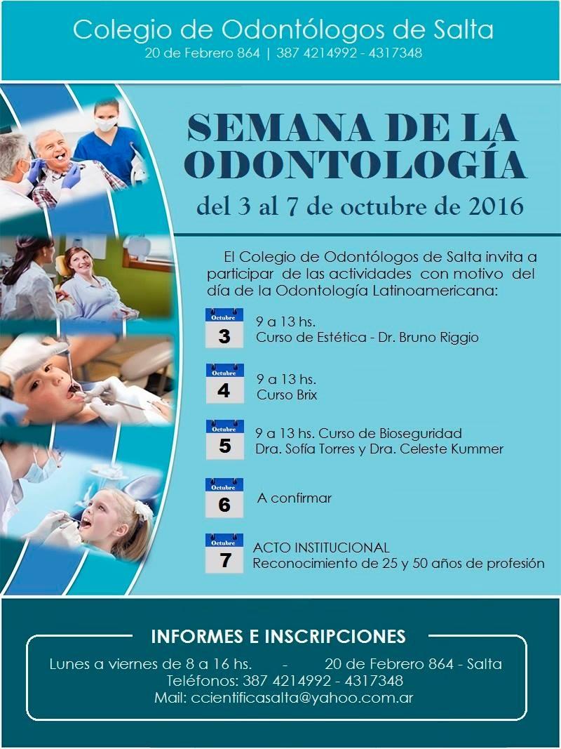 Semana de la Odontología 2016